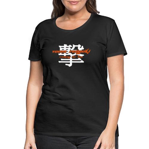 Japanisches Team Zeichen - Frauen Premium T-Shirt