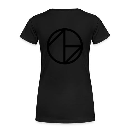Ghost Nation Logo - Premium-T-shirt dam
