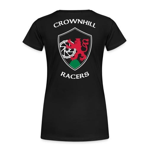 Crownhill Flexdruck Flat - Frauen Premium T-Shirt