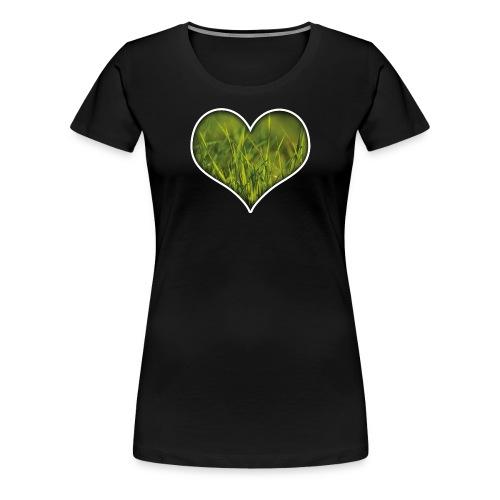 Ein Herz für die Natur! - Frauen Premium T-Shirt