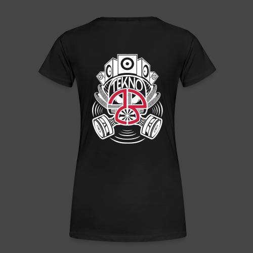 Masque à gaz Tekno 23 - T-shirt Premium Femme