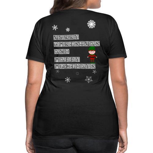 Merry Christmas Elf Geschenk für die ganze Familie - Frauen Premium T-Shirt