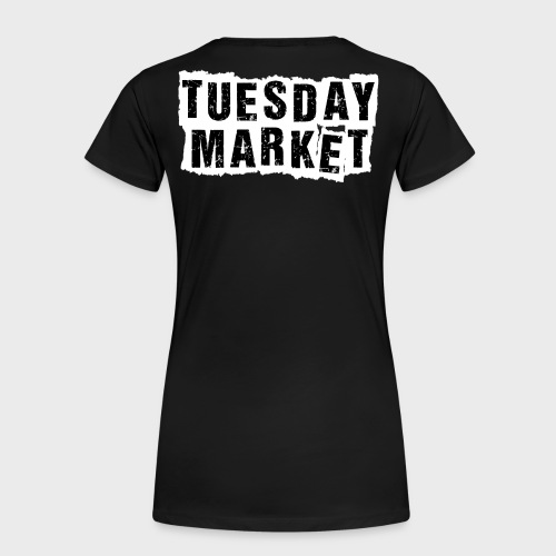 Logo Tuesday Market - Frauen Premium T-Shirt