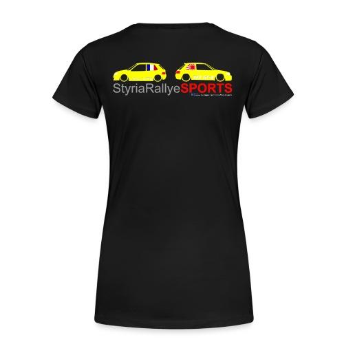SRS Logo Saxo 2 freigestellt png - Frauen Premium T-Shirt