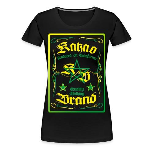 kakao whisky - Frauen Premium T-Shirt