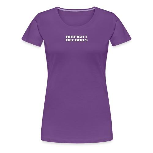 airfightlogo text - Women's Premium T-Shirt