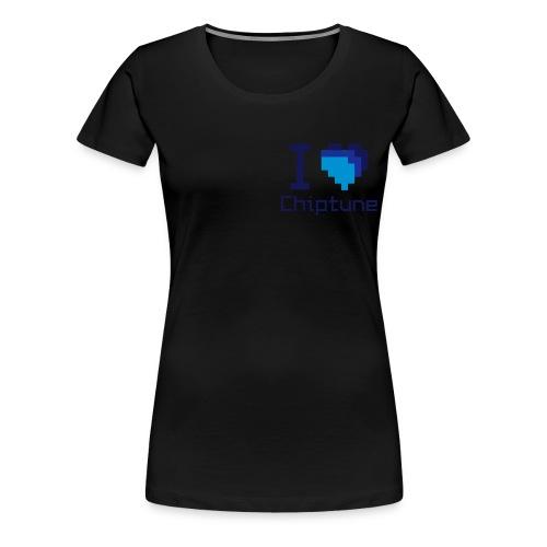 I heart chiptune - Women's Premium T-Shirt
