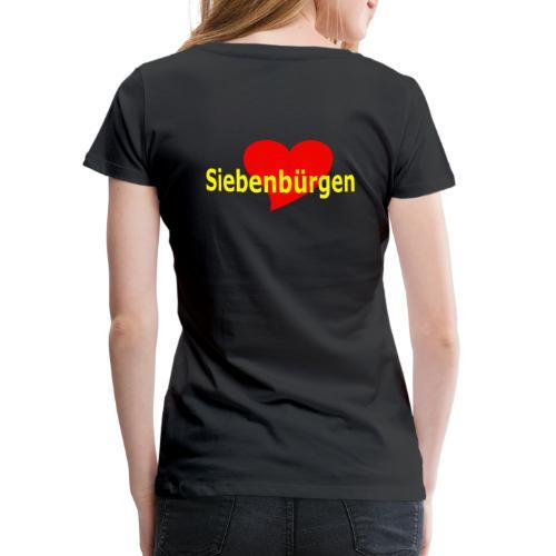 Siebenbuergen Herz - Transylvania - Rumänien - Frauen Premium T-Shirt