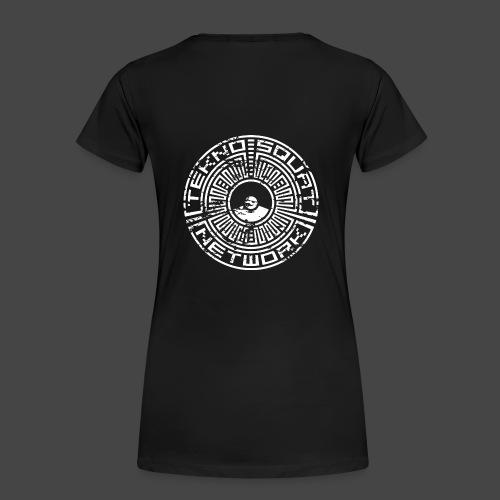 Tekno Squat Network - T-shirt Premium Femme