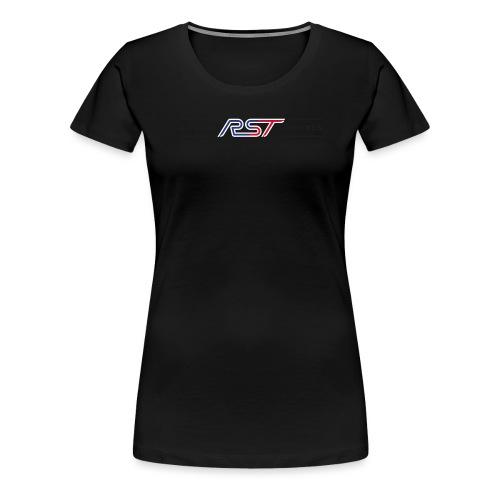 LOGO für T-Shirt_schwarz - Frauen Premium T-Shirt