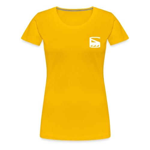 tdLOGO-pixel - Women's Premium T-Shirt