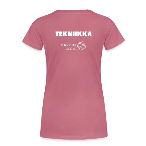 Lavatekniikka - Naisten premium t-paita