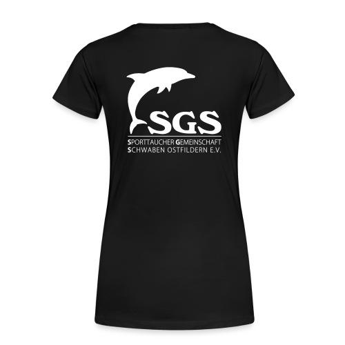 SGS Komplettlogo 2 - Frauen Premium T-Shirt
