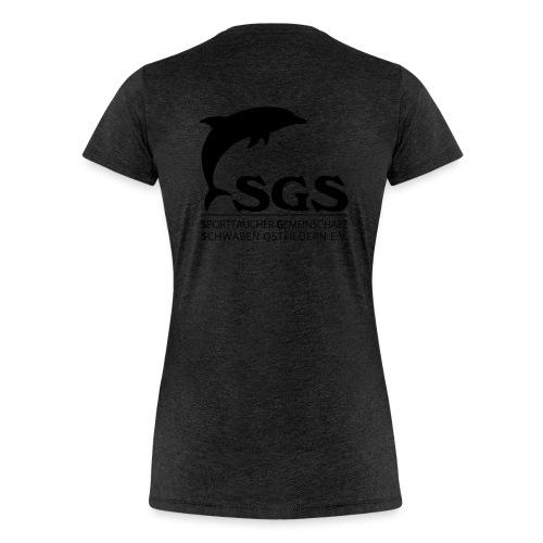 SGS Komplettlogo - Frauen Premium T-Shirt