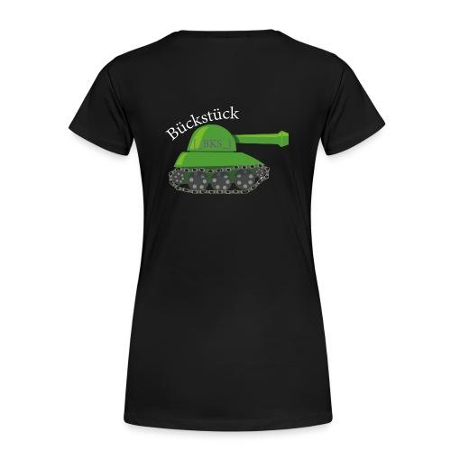 Bückstück Tank small - Frauen Premium T-Shirt