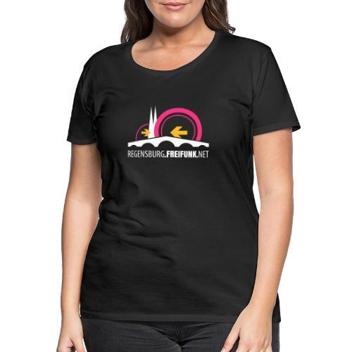 Freifunk Regensburg e V - Frauen Premium T-Shirt