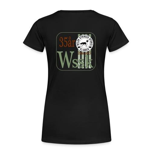 WSSK 35års logga - Premium-T-shirt dam