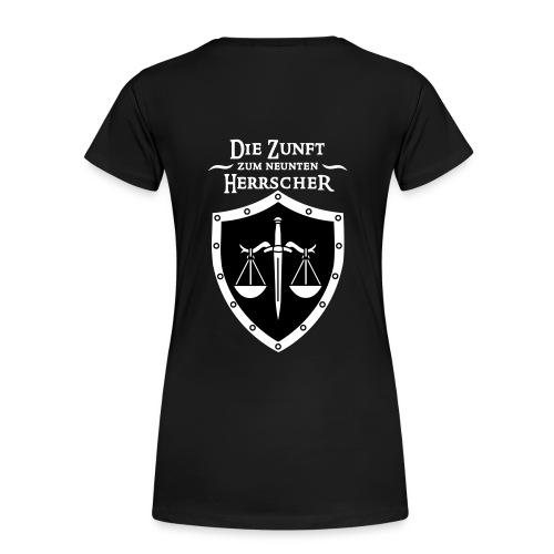 Das offizielle Zunftshirt (Girlie) - Frauen Premium T-Shirt