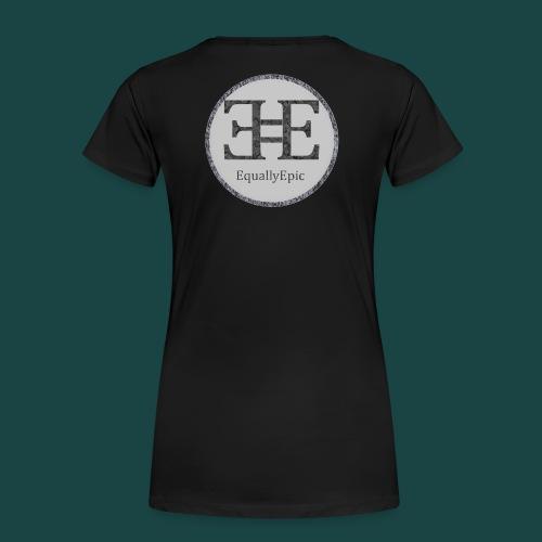 Black Male Tee 2 long - Women's Premium T-Shirt