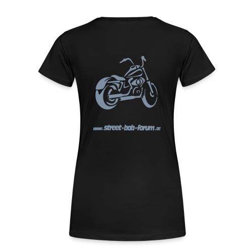 harley street bob ohne fuer spread - Frauen Premium T-Shirt