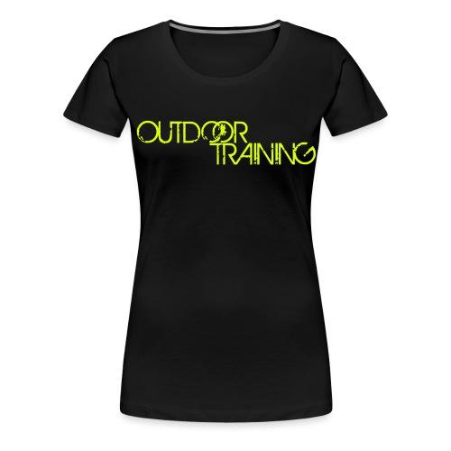 OutdoorTrainingpec - T-shirt Premium Femme