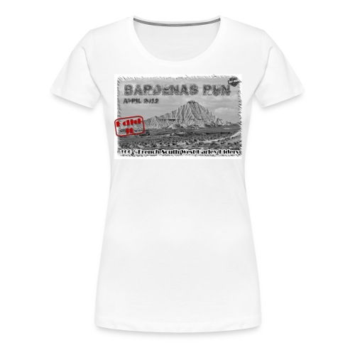 introwhite - T-shirt Premium Femme