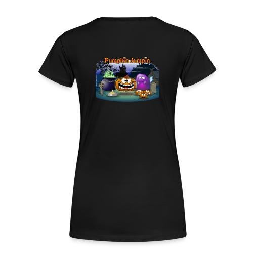 PumpkinJumpin 01 - Women's Premium T-Shirt