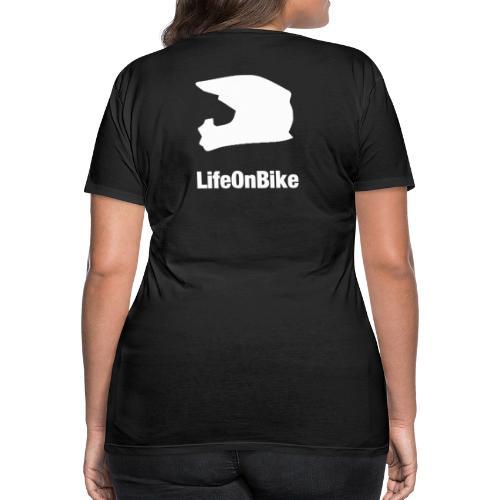 LifeOnBike - Frauen Premium T-Shirt