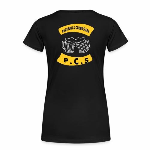 PAASVUUR EN CARBID SLEEN - Vrouwen Premium T-shirt