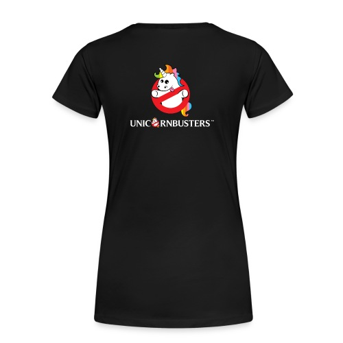 Unicorn Busters (Logo + Text) - Frauen Premium T-Shirt