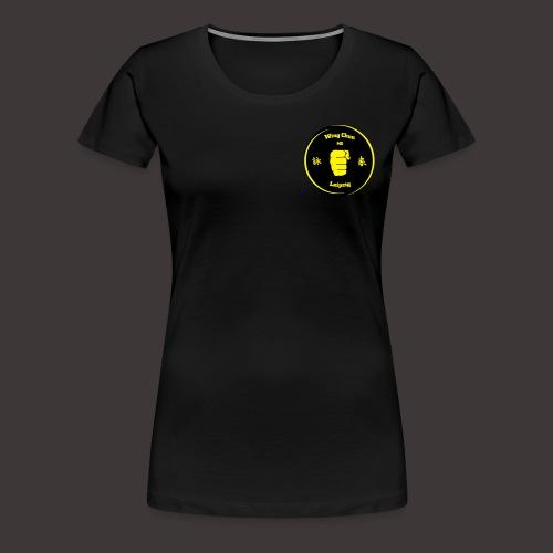 Logo Kampfkunstschule Leipzig - Frauen Premium T-Shirt