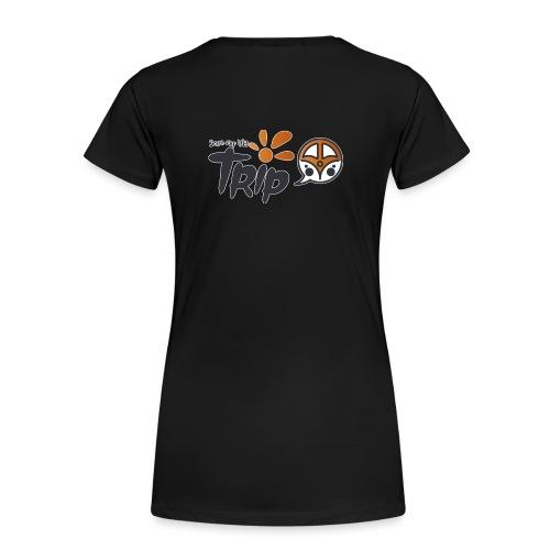Logo pour fond sombre - T-shirt Premium Femme
