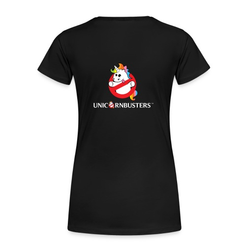 Unicorn Busters (Logo + Text) - Frauen Premium T-Shirt