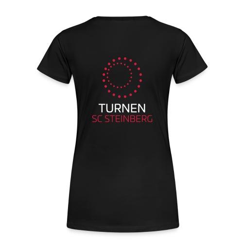 Logo der Turnabteilung des SC Steinbergs - Frauen Premium T-Shirt