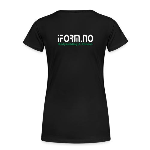 iform no - Premium T-skjorte for kvinner