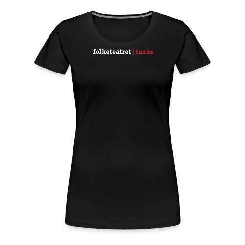 folketeatret turne ny 2011 dk - Dame premium T-shirt