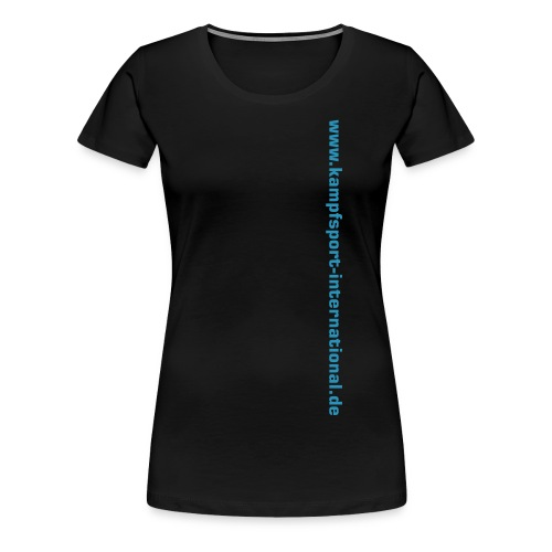 kiwebsite - Frauen Premium T-Shirt
