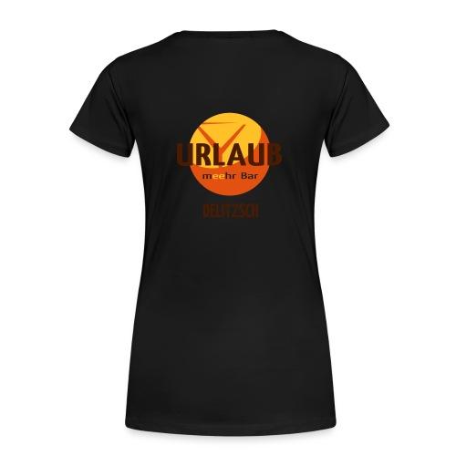 Urlauber weiss - Frauen Premium T-Shirt