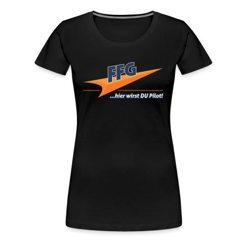 Schriftzug FFG - Frauen Premium T-Shirt