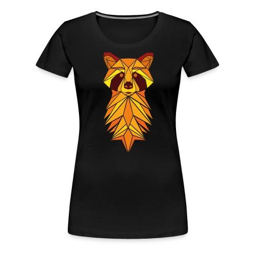 Waschbär Open Air - Frauen Premium T-Shirt