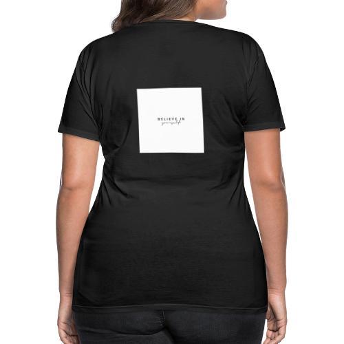tro på dig selv - Dame premium T-shirt