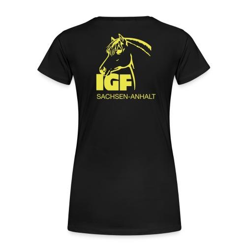 igf gelb - Frauen Premium T-Shirt