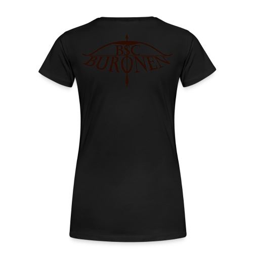 bsc buronen schwarz 4 png - Frauen Premium T-Shirt