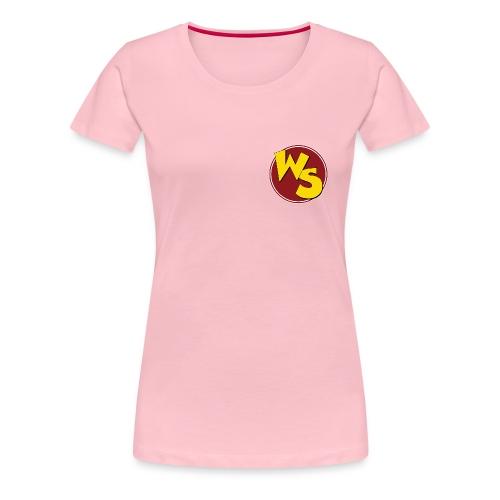 wsvectorlogoshirt90mm - Women's Premium T-Shirt