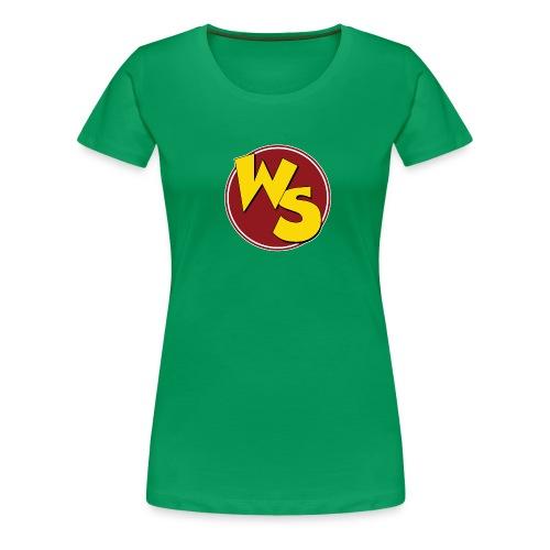 wsvectorlogoshirt140mm - Women's Premium T-Shirt