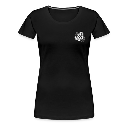 t shirt irish pie black copie petite png - T-shirt Premium Femme