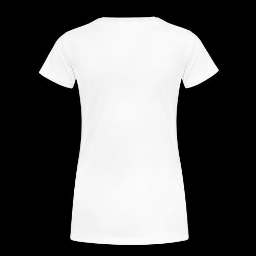 ruumisautopaidan takaosa - Naisten premium t-paita