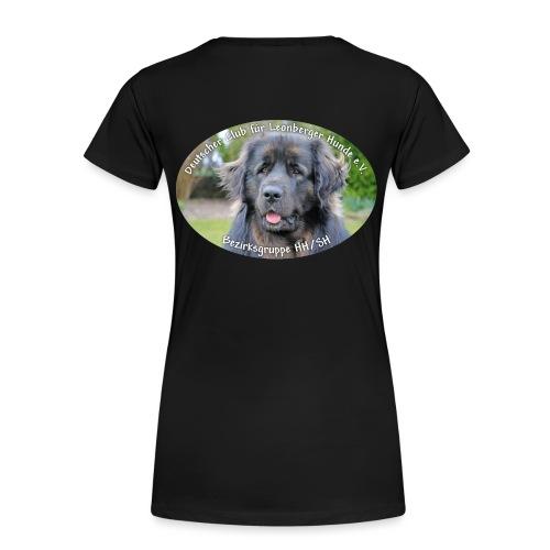 Leonberger BG Logo oval - Frauen Premium T-Shirt
