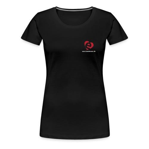 H e eartmanns Herz mit URL - Frauen Premium T-Shirt