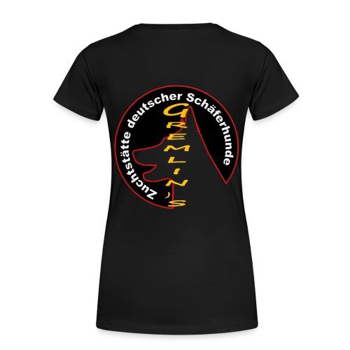 gremlinslogo - Frauen Premium T-Shirt